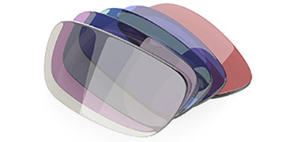 Several rectangular tinted lenses