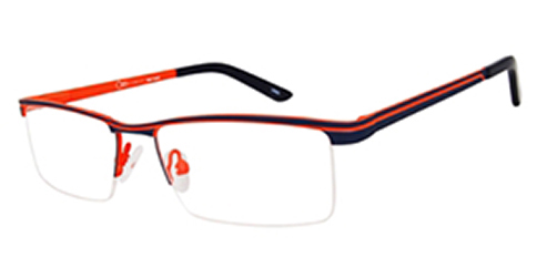 One Ad Infinitum 1-MOD001 - Black-Orange stripe