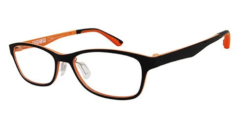 One Ad Infinitum - 1-UT2270 (Matte Black-Orange)