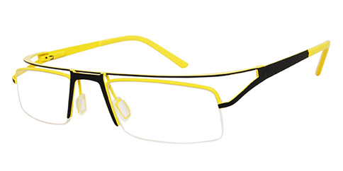 One Ad Infinitum 1-WA6774 - Black-Yellow