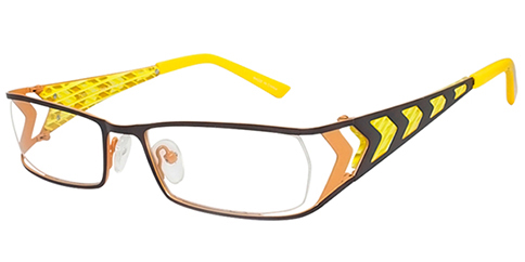 One Ad Infinitum 1-WAA132 - Brown-Yellow