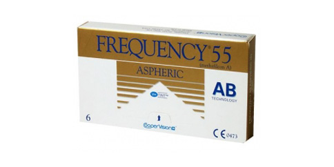 CooperVision - Frequency 55 Aspheric 6 Pack