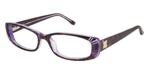 BCBGMaxazria Lunette - Tortoise Purple Laminate