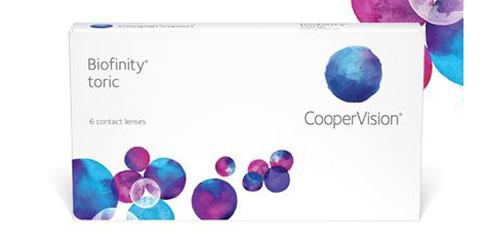 CooperVision - Biofinity Toric 6 Pack
