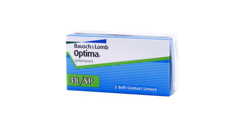 B+L - Valeant - Optima 38/SP 2 Pack