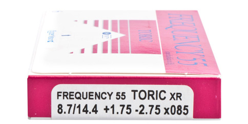 CooperVision Frequency 55 Toric XR 6 Pack