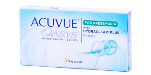 Vistakon - Acuvue Oasys for Presbyopia 6 Pack