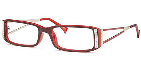 Capri Optics Monica - Burgundy