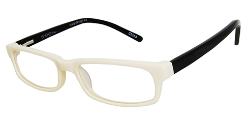 Seeline SLC1001 - Cream-Black Temples