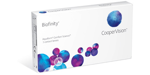 CooperVision - Biofinity 6 Pack