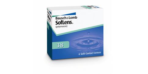 B+L - Valeant Soflens 38 6 Pack