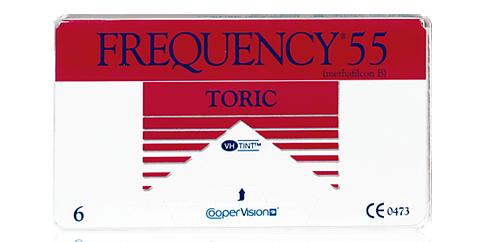 CooperVision - Frequency 55 Toric 6 Pack