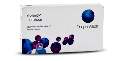 CooperVision - Biofinity Multifocal 6 Pack